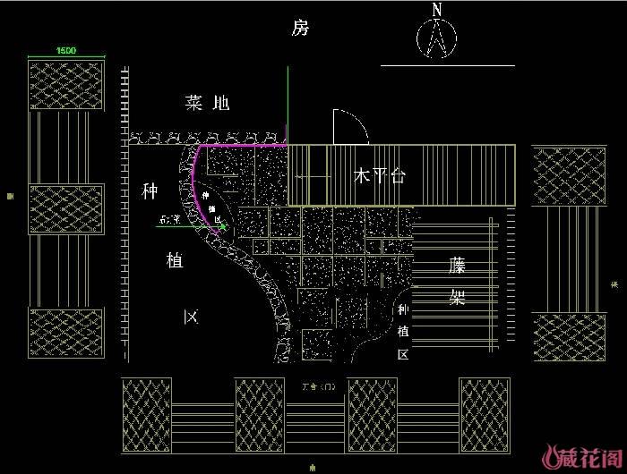 规划平面图